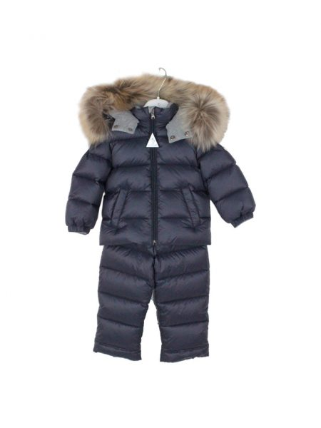Completo Moncler giubbotto e salopette in nylon NEW MAUGNER