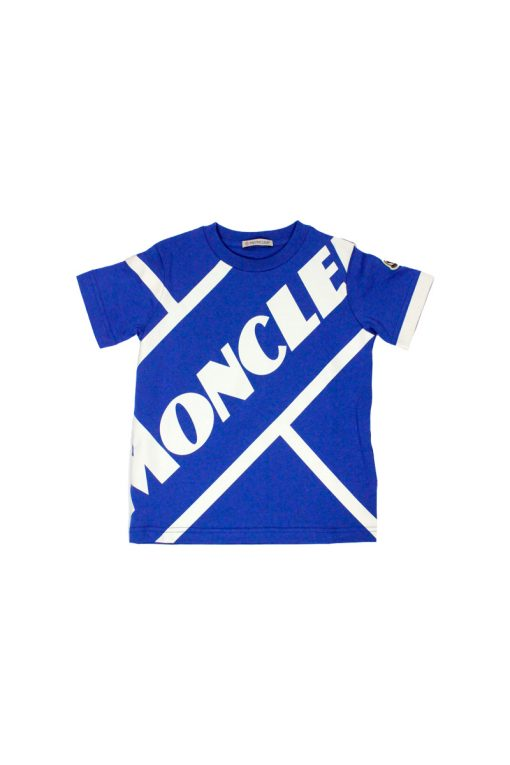 T-shirt Moncler in jersey di cotone con Logo stampato