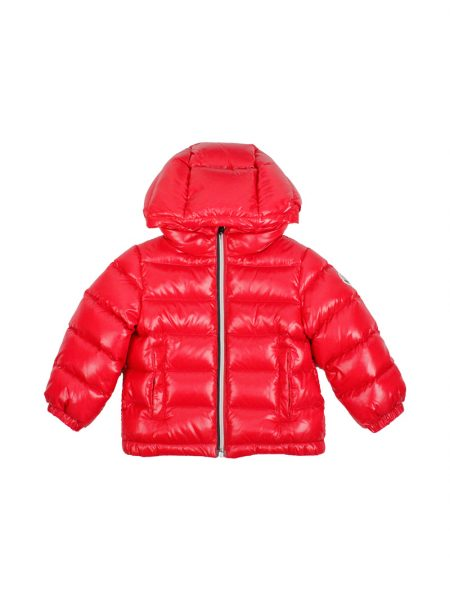 Piumino Moncler Baby New Aubert Colore Rosso