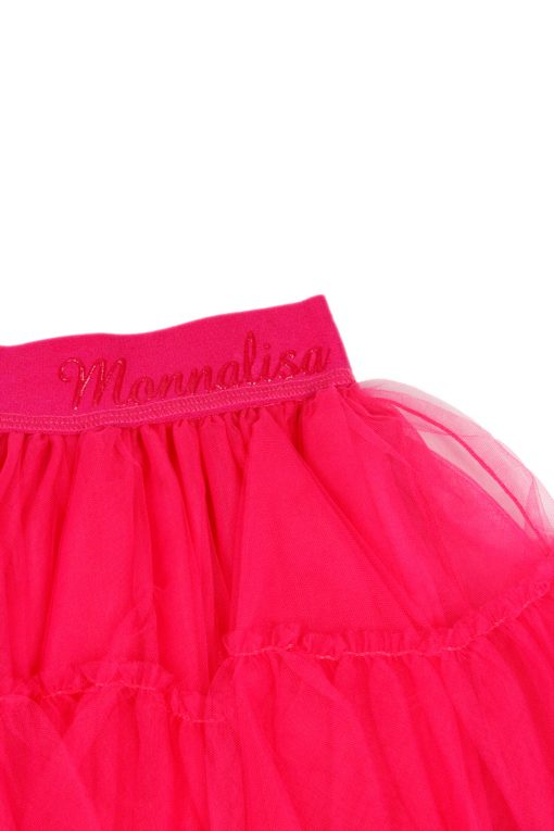 Gonna Monnalisa in Tulle Colore Fucsia (177GON)